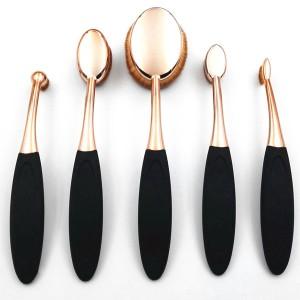 Pinceaux Professionels Oval collection Gold Visage Contour Yeux