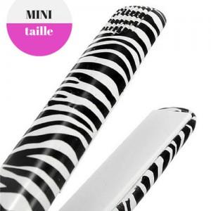Mini Plaques Ceramiques Lissage Professionnel Cheveux Zebre
