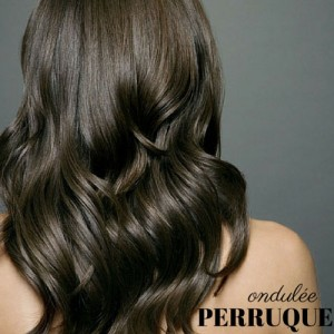 Perruque Longue Ondulee Wave Postiche Naturel Fashion