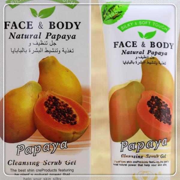 gommage corps visage papaye body exfoliant purifiant peau neuve douce. Black Bedroom Furniture Sets. Home Design Ideas