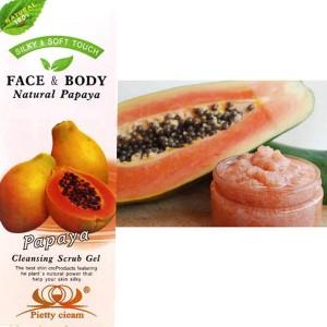 Gommage Corps Visage Papaye Body Exfoliant Purifiant Peau Neuve Douce