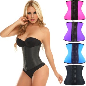 Ceinture Corset Taille fine serre taille Training Latex Star silhouette