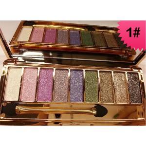 Palette 9 Fards a Paupieres Ombres Irisees Glitter Paillette Makeup #1