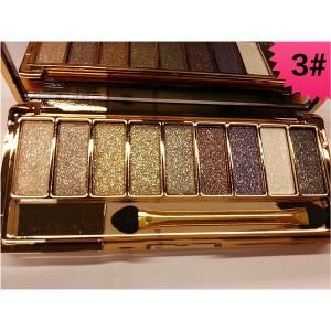 Palette 9 Fards a Paupieres Ombres Irisees Glitter Paillette Makeup #3