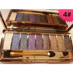Palette 9 Fards a Paupieres Ombres Irisees Glitter Paillette Makeup #4