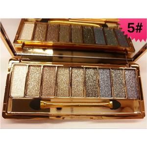 Palette 9 Fards a Paupieres Ombres Irisees Glitter Paillette Makeup #5