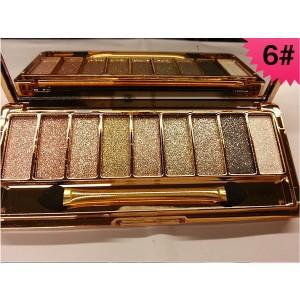 Palette 9 Fards a Paupieres Ombres Irisees Glitter Paillette Makeup #6