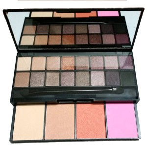 Palette Warm Neutre Cool Eyeshadow Blushs 20 Fards Paupieres & Blush