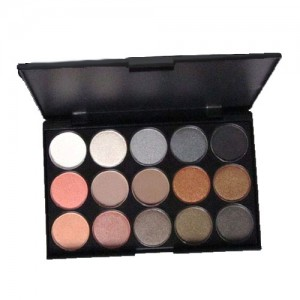 Palette Yeux 15 Couleurs Gris Bronze Irises Mattes Nude Marron Smoky Eyes Fards Paupieres