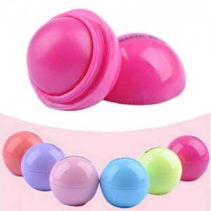 Baume a Levres Super Hydratant Brillance Gloss Gout Fruit Ball Boule Organic Naturel
