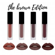 Rouge a Levres Liquid Matte Kit 4 minis Lipsticks BROWN edition