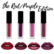 Rouge a Levres Liquid Matte Kit 4 minis Lipsticks RED edition