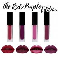Rouge a Levres Liquid Matte Kit 4 minis Lipsticks RED edition