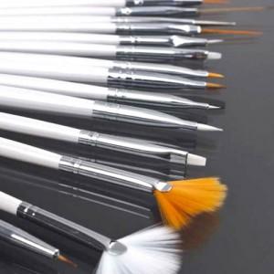 Accessoires Nail Art 15 Pieces Pinceaux Outils Precision Dotting Tool Gel Uv Vernis