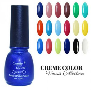 Vernis Laque Brillance Extreme Creme Color Collection Bleu Couleur