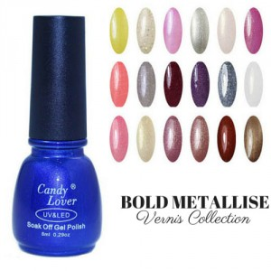Vernis Laque Brillance Extreme Bold Metallise Paillettes Collection