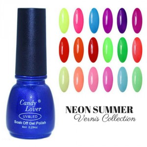 Vernis Laque Brillance Extreme Neon Couleur Summer Collection