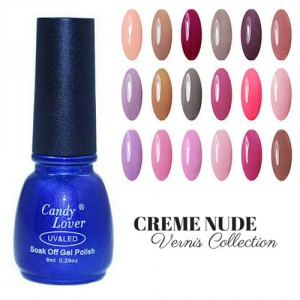 Vernis Laque Brillance Extreme Creme Nude Collection
