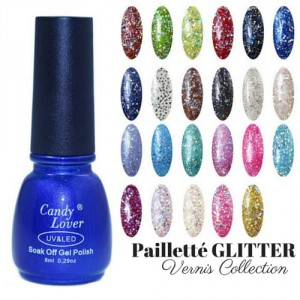 Vernis Laque Brillance Extreme Paillete Glitter Night Out Collection