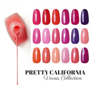 Vernis Laque Brillance Extreme Pretty California Collection