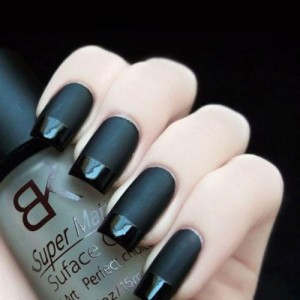 Vernis Top Coat transparent effet MAT dramatical Grunge Look Ongles
