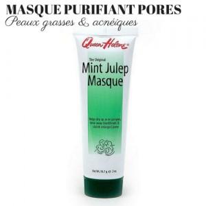 Masque Argile Kaolin Menthe Peau Neuve Points noirs Pores Dilatees Peaux Grasses