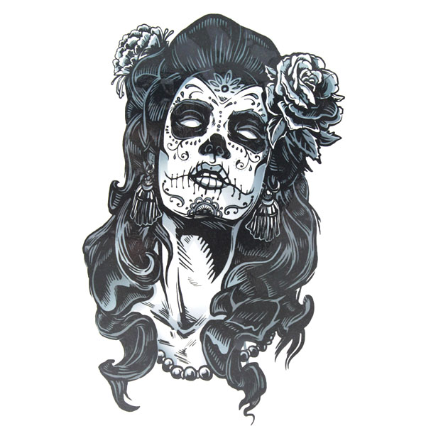Tatouage Flash Rose Tattoo Girl Latino