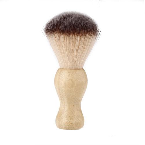 blaireau rasage homme bois naturel bamboo resistant moustache barbe. Black Bedroom Furniture Sets. Home Design Ideas